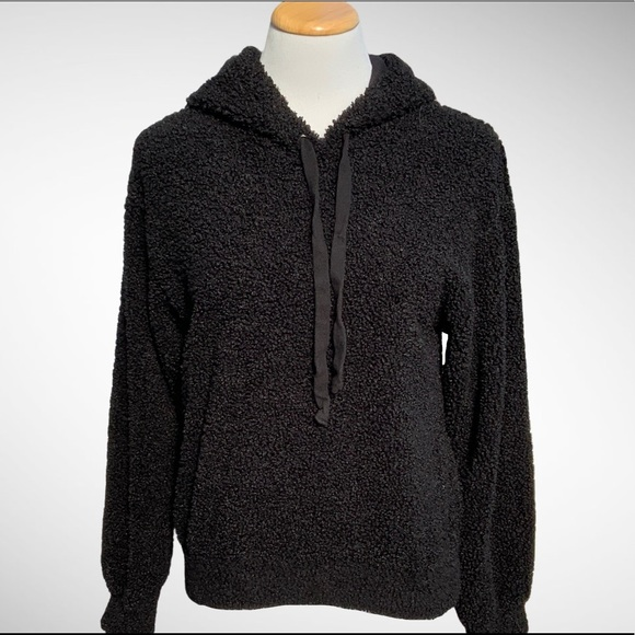 Wild Fable Black Pullover Drawstring Hoodie